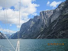 Lysefjord and Kjerag - Click for larger version
