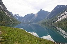 Inland fjord from Floro - Click for larger version